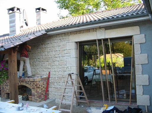 CONSTRUCTIONS SAVIGNACOISES FERRON - Spécialiste  de vos travaux de bâtiment - Maçonnerie traditionnelle