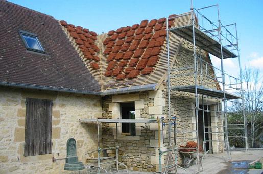 CONSTRUCTIONS SAVIGNACOISES FERRON - Spécialiste  de vos travaux de bâtiment - Couverture de maison - Toiture